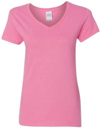 Gildan heavy cotton v-neck t-shirt 5v00l XL