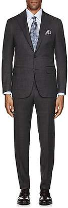 Canali Men's Neat Wool Two-Button Suit - Gray