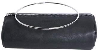 MM6 MAISON MARGIELA Black Leather Clutch