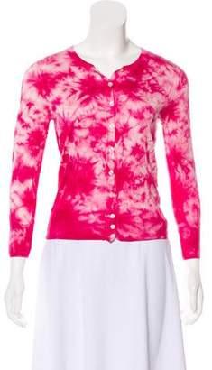 Dolce & Gabbana Long Sleeve Tie-Dye Cardigan