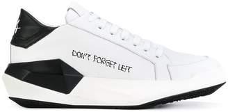 Cinzia Araia printed platform sneakers