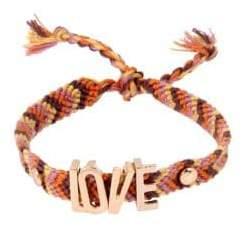 BCBGeneration Affirmation Love String Friendship Bracelet