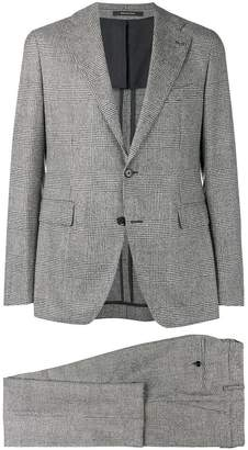 Tagliatore Prince of Wales check suit