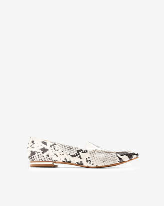 Express Snake Print Lennox Loafers
