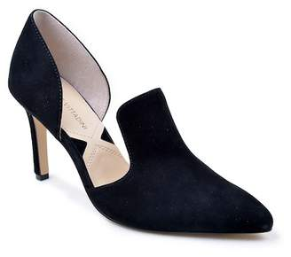 Adrienne Vittadini Nicolo Leather Cutuout Pump