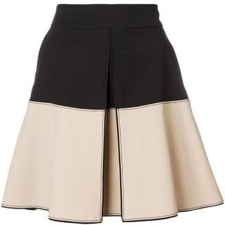 Schumacher Dorothee two tone notch front skirt