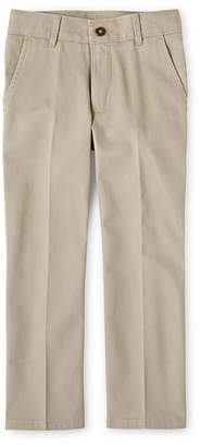 Izod EXCLUSIVE Flat Front Twill Pants - Boys 8-20, Slim and Husky