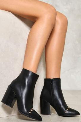 Nasty Gal Don't Stop Me Now Vegan Leather Boot