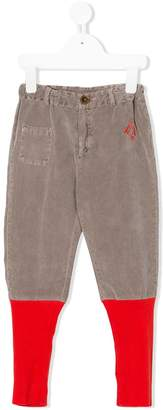 Bobo Choses ribbed hem trousers