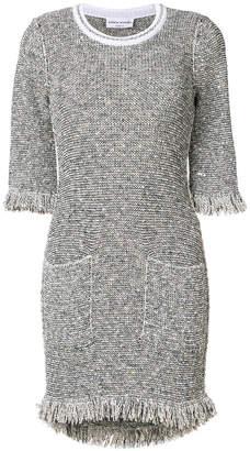 Sonia Rykiel tweed fringed dress
