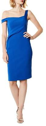 Karen Millen Asymmetric Sheath Dress