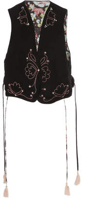 Bohemia Alix Of Eugenie Embroidered Waistcoat