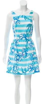 Lilly Pulitzer Embellished Floral Dress