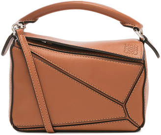 Loewe Puzzle Mini Bag in Tan | FWRD
