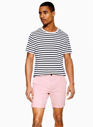 TopmanTopman Pink Stretch Skinny Chino Shorts