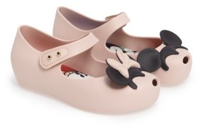 Toddler Girl's Mini Melissa Disney Twins Ii Mary Jane 5
