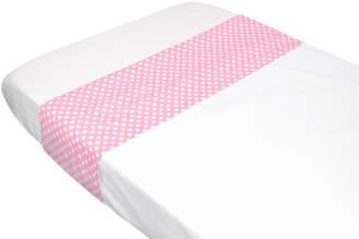 Taftan Polkadots Top Sheet (Pink)