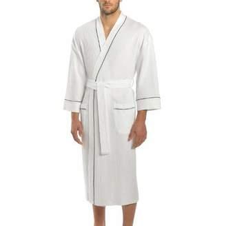 543b2b9f05 Majestic International Big and Tall Men s Waffle Kimono Spa Robe