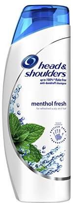 Head & Shoulders Mint Shampoo Menthol Fresh, 500 ml, Pack of 6