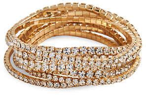 Cezanne Crystal Stretch Bracelet