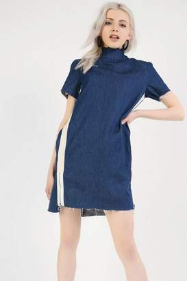 Glamorous **Contrast Denim Dress