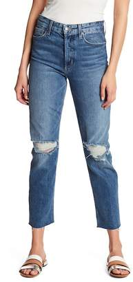 Joe's Jeans The Smith Fray Cuff Straight Leg Ankle Jeans