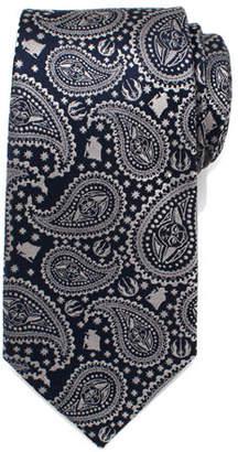 Cufflinks Inc. Star Wars Yoda Paisley-Print Silk Tie