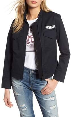 Zadig & Voltaire Kavy Spi Embroidered Jacket
