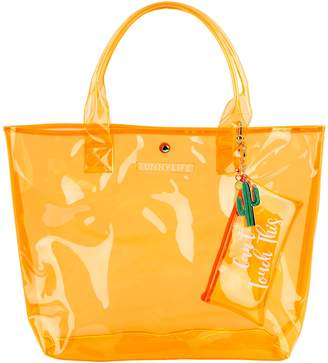 Sunnylife SEE THROUGH MARKET BAG