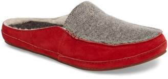 OluKai Alaula Genuine Shearling Lined Slipper
