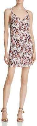 En Créme Floral Button-Front Dress $58 thestylecure.com