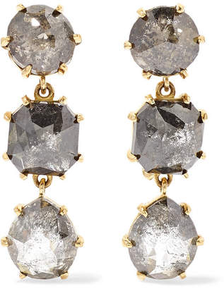 Melissa Joy Manning 18-karat Gold Diamond Earrings - one size
