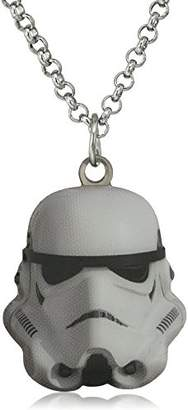 Star Wars Jewelry Stormtrooper Stainless Steel Cut Out Pendant Necklace