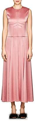 Cédric Charlier Women's Textured Satin Gown