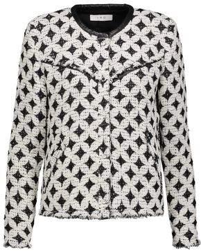 IRO Handi Cotton-Blend Boucl-Tweed Jacket