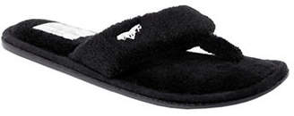 PRETTY YOU LONDON Mary Plush Thong Slippers