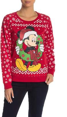 Freeze Mickey Light Up Sweater