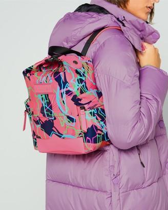Hunter Disney Print Mini Backpack - Rubberized Leather