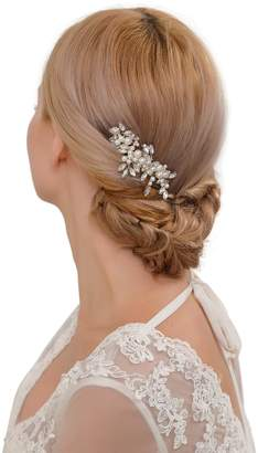 styling/ ULAPAN Wedding Hair Piece Wedding Hairband Pearls Bridal Hair piece Hairband Wedding Headband With Comb