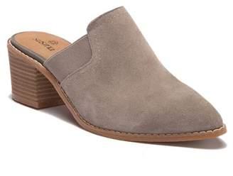 332d420a9fe Susina Savanna Suede Block Heel Mule