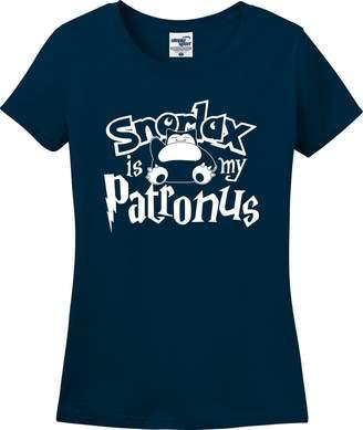 Pokemon Utopia Sport Snorlax is My Patronus Harry Potter Parody Ladies T-Shirt (S-3X)