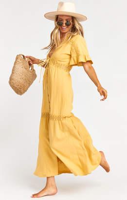 Show Me Your Mumu Aloha Kimono Dress ~ Marigold