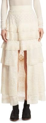 Zimmermann Freedom Hi-Lo Skirt