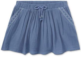 Polo Ralph Lauren Fit & Flare Cotton Skirt, Little Girls