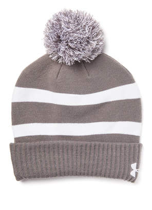 ec06aeee46e20 at South Moon Under · Under Armour Striped Pom Beanie