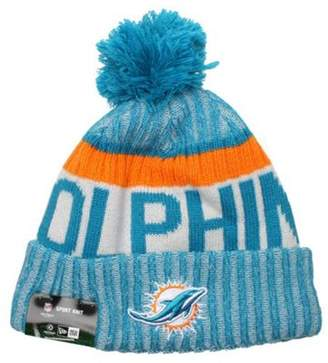 timeless design 11500 ac51d sweden miami dolphins new era knit hat length f9ea6 bb9cd