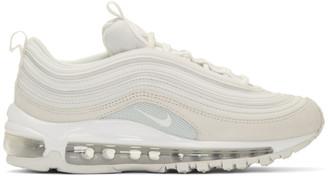 Nike White Air Max 97 Premium Sneakers