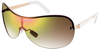 Southpole Women's 444sp-Rgdwh Shield Sunglasses