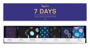 Happy Socks Seven-Day Gift Box