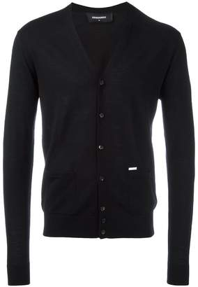 DSQUARED2 classic V-neck cardigan
